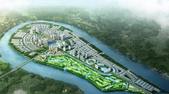 DAI PHUOC ECOTOURISM URBAN AREA<br>An impressive transition from the wilderness to the high-end urban area with specialized subdivisions which were designed and planned carefully, bringing the most luxurious life in Vietnam.