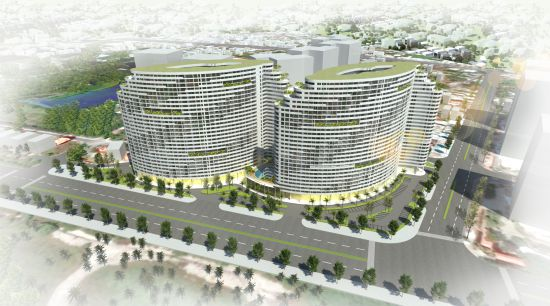 VUNG TAU GATEWAY LUXYRY APARTMENT<br>The main form of the building is designed like the windy sails, reaching out to the sea, bringing luck, fortune and prosperity for the future residents of Gateway.