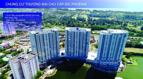 CHUNG CƯ THƯƠNG MẠI CAO CẤP DIC PHOENIX<br>Đến với DIC Phoenix, cư dân sẽ được tận hưởng cuộc sống sôi động, đẳng cấp, nhiều tiện ích đồng bộ đan xen nhưng vẫn hòa quyện cùng thiên nhiên của miền biển nhiệt đới.